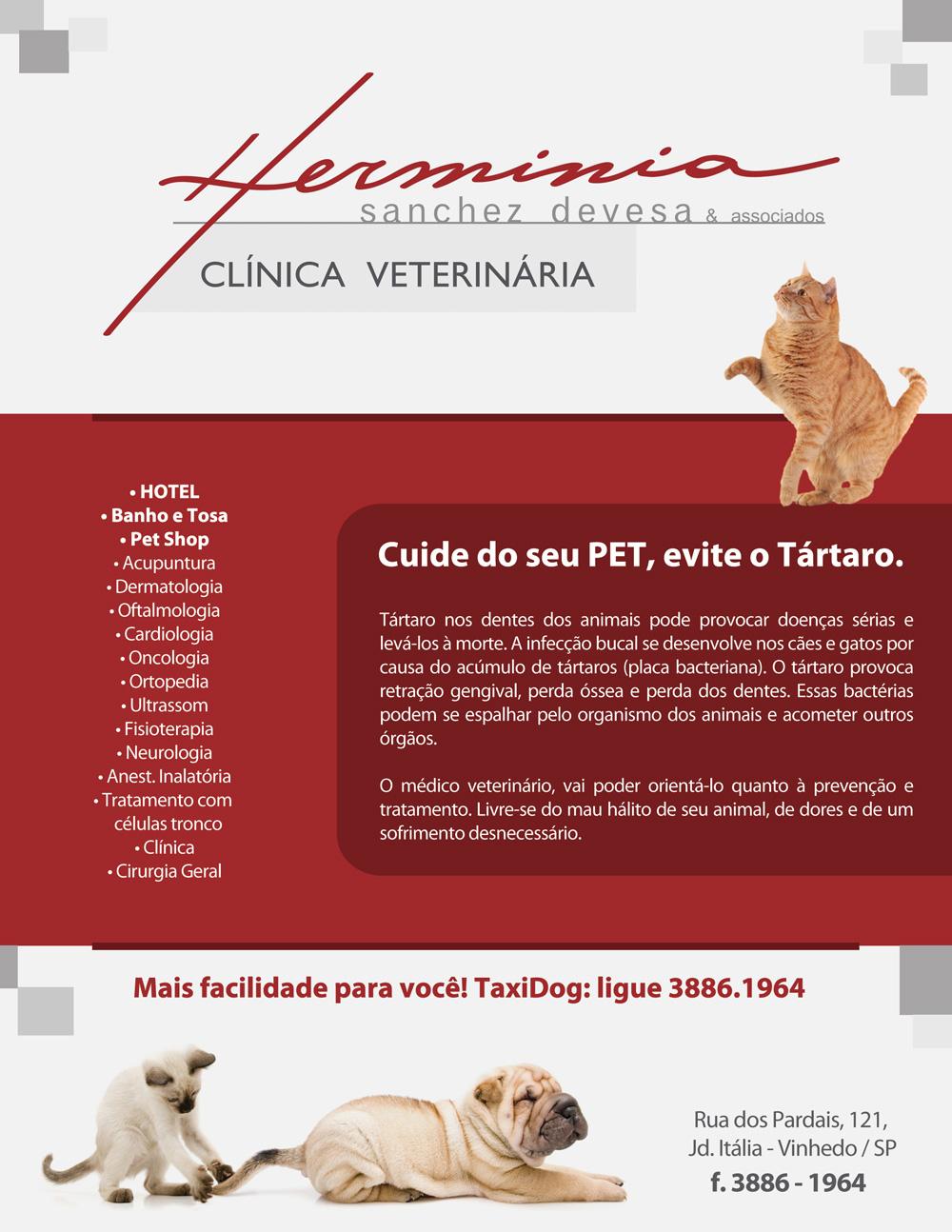 herminia clinica veterinaria em vinhedo